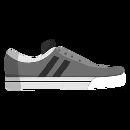 Joggingschuh Sneaker Streifen flach