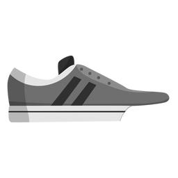 Zapato de jogging zapatillas deportivas raya plana
