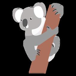 Ramo de nariz de perna de orelha de coala