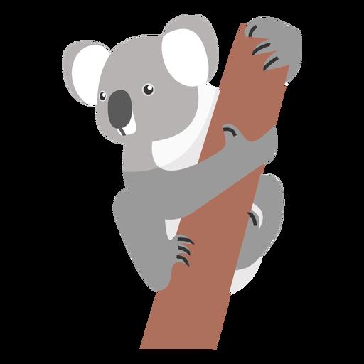 Koala ear leg nose branch flat Transparent PNG