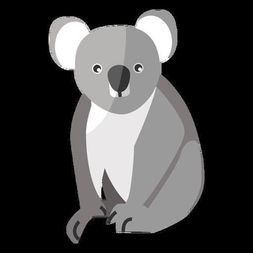 Orelha de perna de nariz de coala plana Transparent PNG