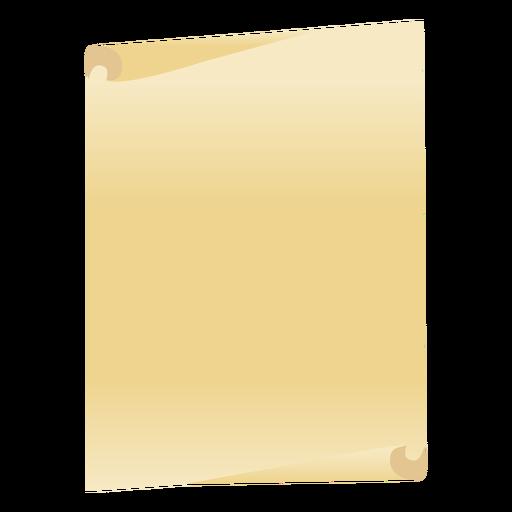 Blattpapier flach Transparent PNG