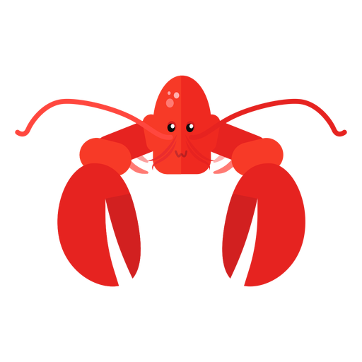 Lobster antenna claw flat Transparent PNG