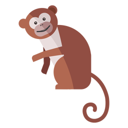Monkey leg muzzle flat