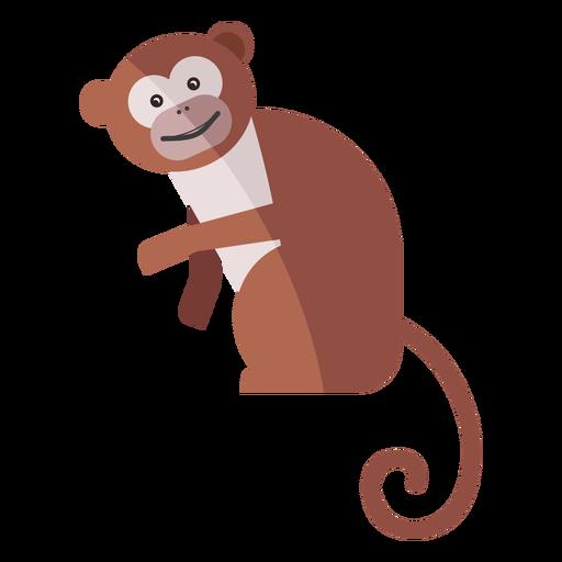 Monkey leg muzzle flat Transparent PNG
