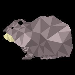 Ottermaul niedrig Poly