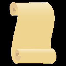 Papiro hoja papel plano
