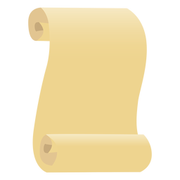 Papyrusblattpapier flach