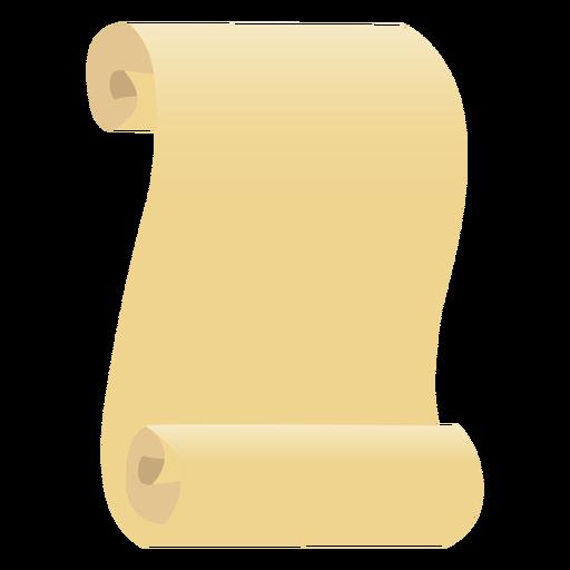 Papiro hoja papel plano Transparent PNG