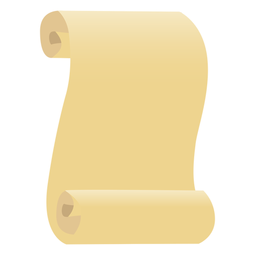 Papyrus leaf paper flat - Transparent PNG & SVG vector
