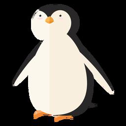 Pingüino pico ala grasa plana