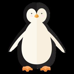 Ala de pingüino plana pico