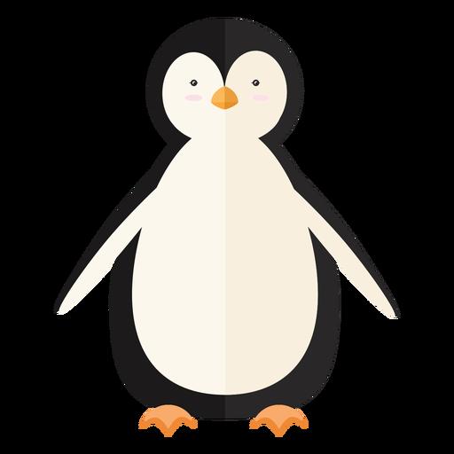 Pico de ala de pingüino plano