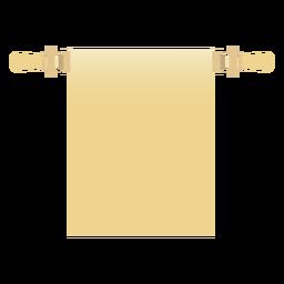 Roll scroll flat