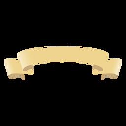 Rollen Sie das Scroll-Band flach