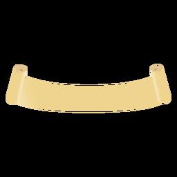 Scroll roll flat