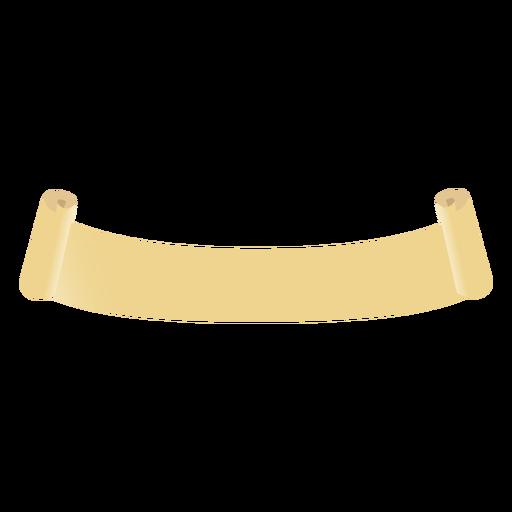Rollo de desplazamiento plano Transparent PNG
