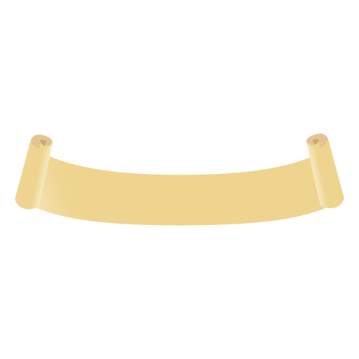 Rolo de rolagem plana Transparent PNG