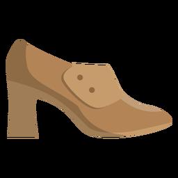 Zapato tacon plano