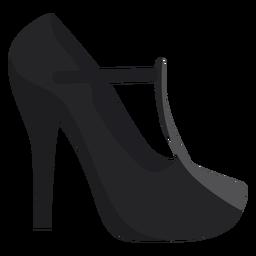 Zapato talon puntera plana