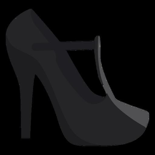 Zapato talon puntera plana Transparent PNG