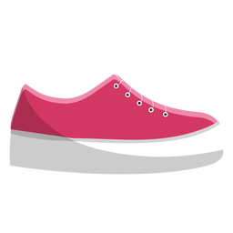 Schuhmokassin-Spitzeillustration