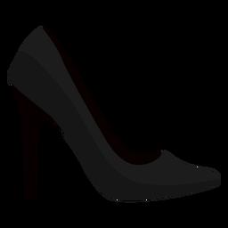 Schuhspitze Ferse Stiletto Ferse flach