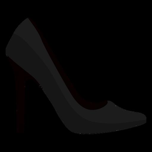 Zapato pico tacón tacón de aguja plano Transparent PNG