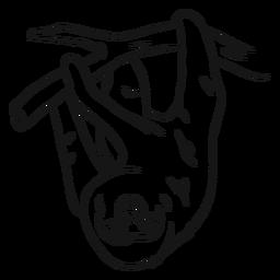 Desenho de árvore de ramo de preguiça