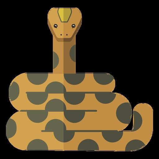 Serpiente largo reptil plano Transparent PNG