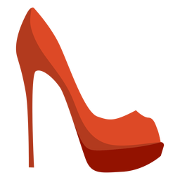 Zapato de tacón de aguja tacón de aguja plana