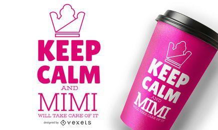 Keep Calm Mug Design