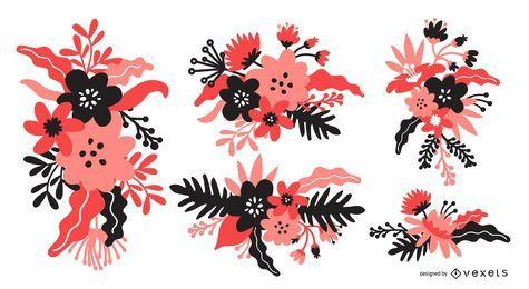 Set de ramo de flores
