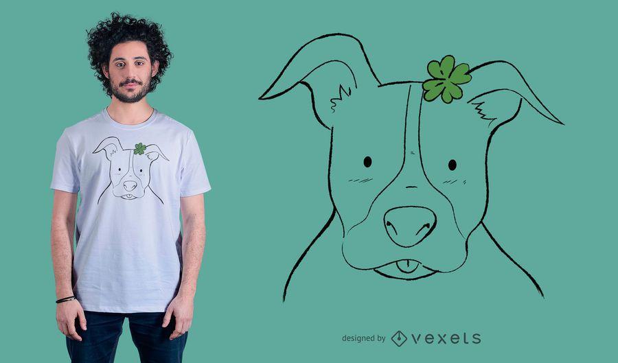 Doodle Pitbull camiseta de diseño
