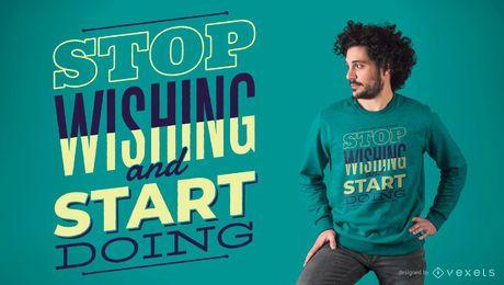 Comece a fazer o design de camiseta