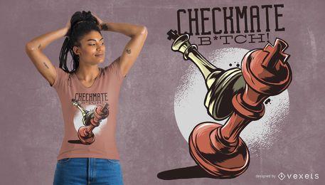 Projeto do t-shirt do Checkmate