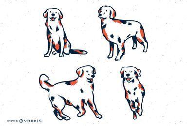 Conjunto de Tons de Duo para Cães