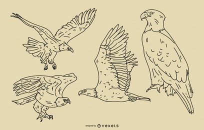 Eagle Stroke Style Set