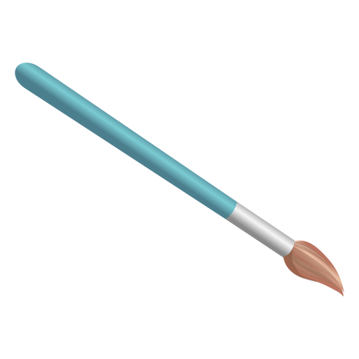 Brush tool illustration