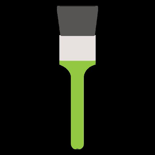 Brush tool painting flat