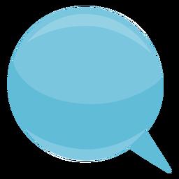 Esfera de bolha discurso bolha esfera plana