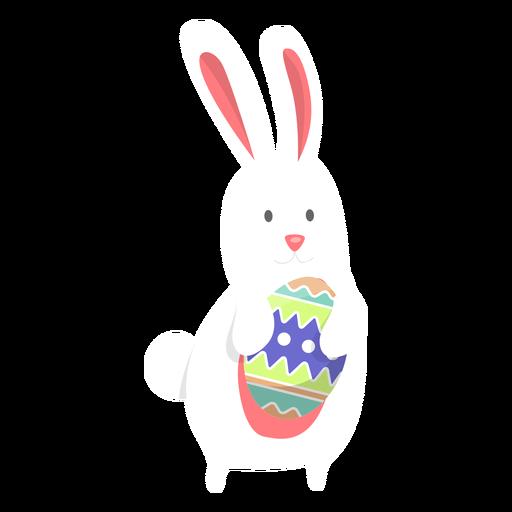 Conejito Huevo Pascua Plano Transparent PNG