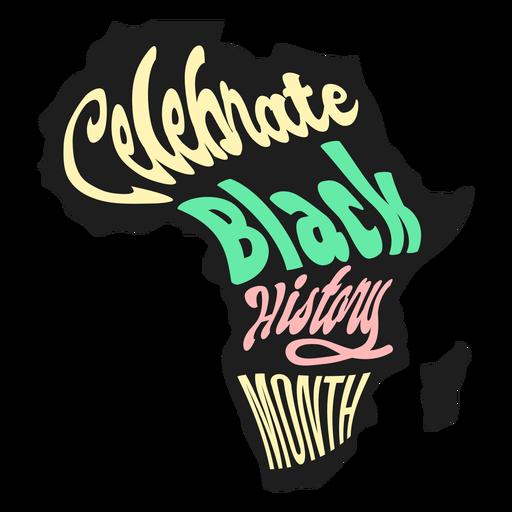 Celebra el mes de la historia negra con la pegatina de madagaskar Transparent PNG
