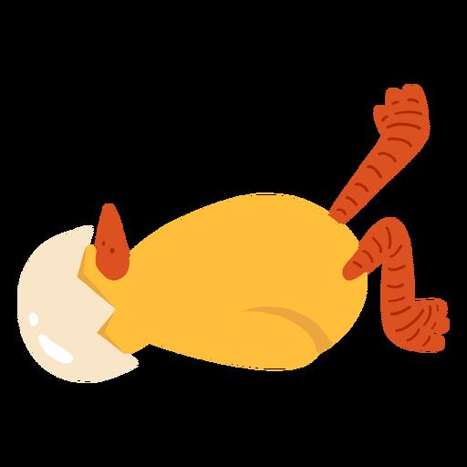 Chicken beak shell flat Transparent PNG