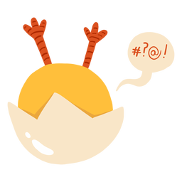 Casca de bolha de frango plana