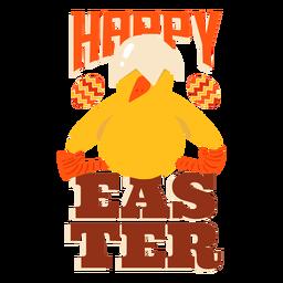 Schnabeloberteil Ostern-Grußausweis des Huhns