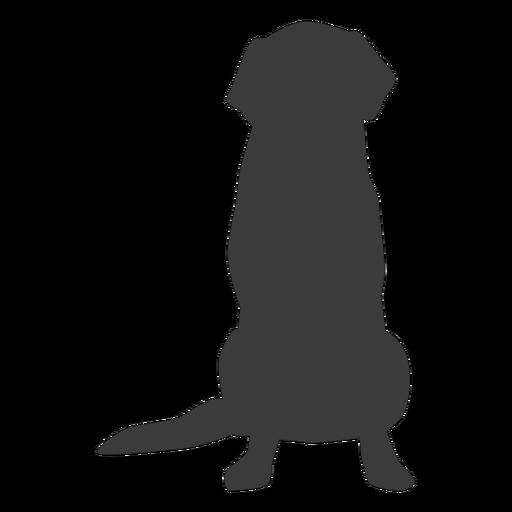 Silhueta de cauda de cachorro cachorro Transparent PNG