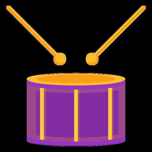 Tambor musica musica plana Transparent PNG