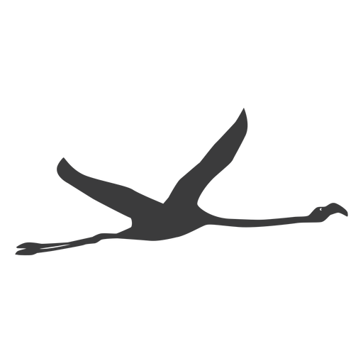 Flamingo leg bico rosa voar silhueta pássaro Transparent PNG