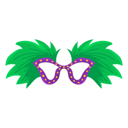 Mascarilla pluma plana